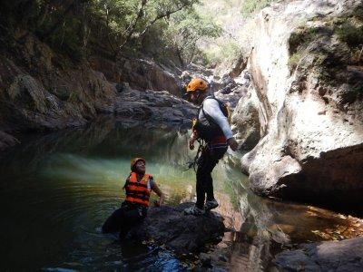 Canyon trip, la Garita. Guajuanato.