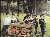 Playing gotcha laser