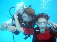 Momentos bajo el agua