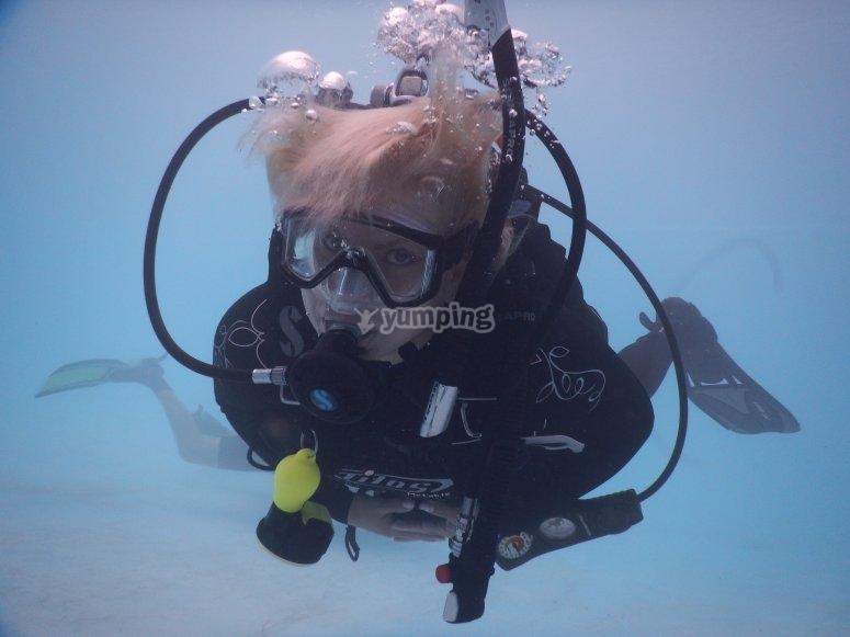 Diving teachers