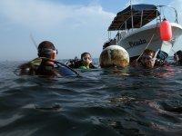 Buceando en Veracruz