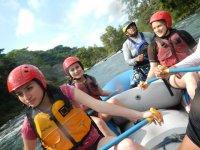 river rafting fish