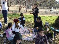 Día de actividades en Campamento Sierra de Lobos