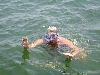 Snorkel en el agua