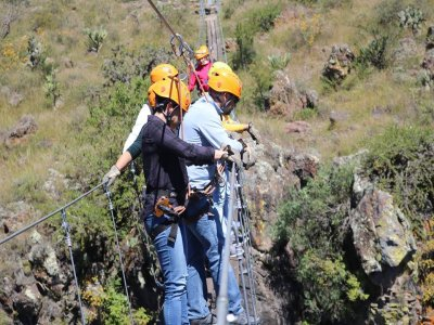 Multi-adventure camp in San Miguel de Allende