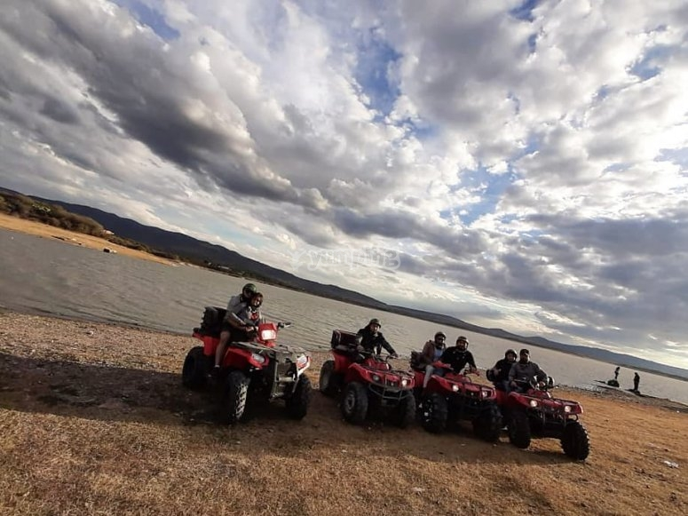 Guided motorcycle tour