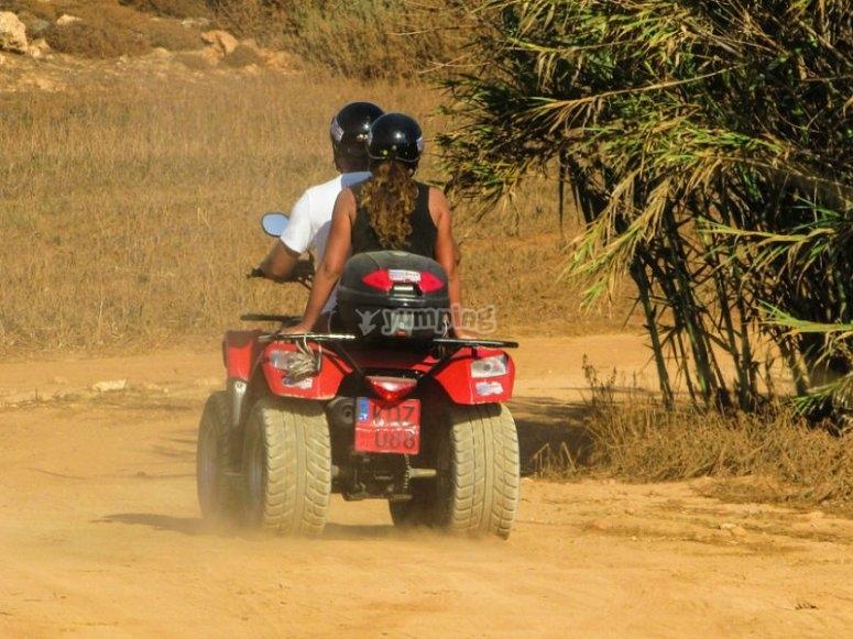 Enjoy an ATV ride