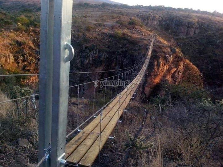 San Miguel bridge