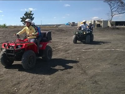 One-seater ATV Tour San Miguel 2h + Zip Line
