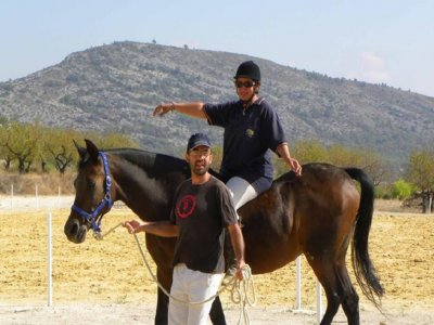 Sport horseriding in Texcoco