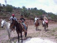 Cabalgata y tirolesa en San Miguel de Allende 4hrs
