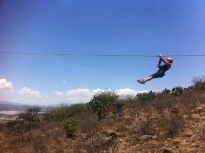 Zip-line and hiking in San Miguel de Allende