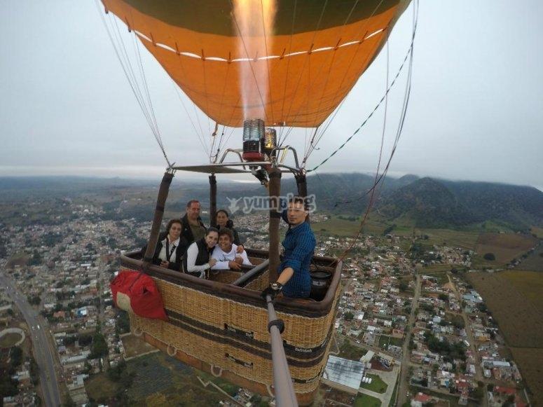 Jalisco viaje en Globo