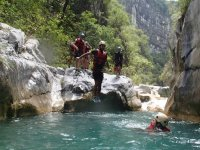Canyoning in Nuevo León