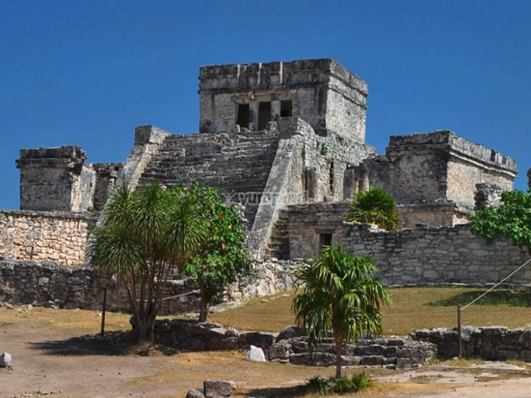 Walking throuh the ruins