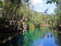 Discovering Escondido Cenote