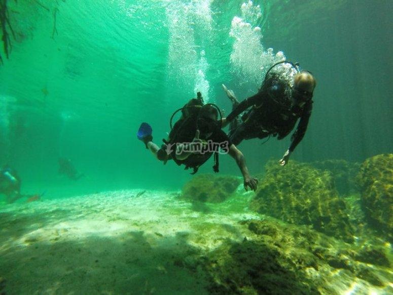 Primera clase en arrecife