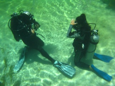 Diving for beginners in Tulum