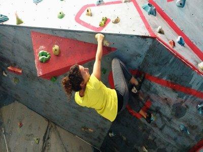 Climbing training in Cancun