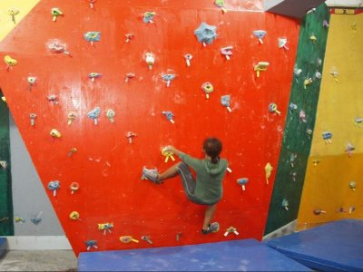 Climbing practice monthly payment, Cancun