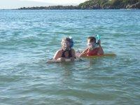 Snorkel y nado