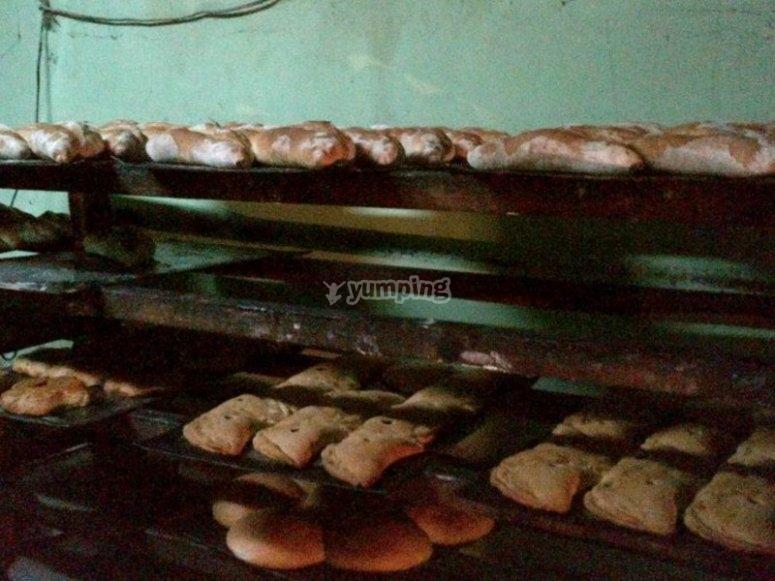 Oven bread