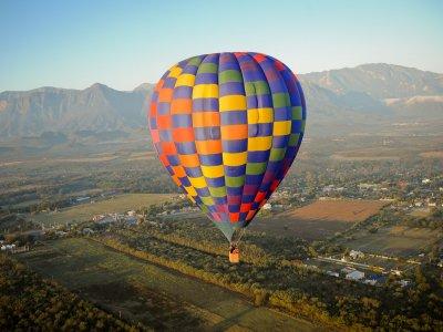 Hot air balloon ride in Monterrey