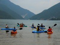 Kayak en equipo
