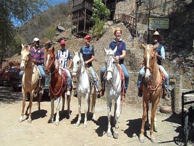 Horse riding in Santiago, Pueblo Magico.