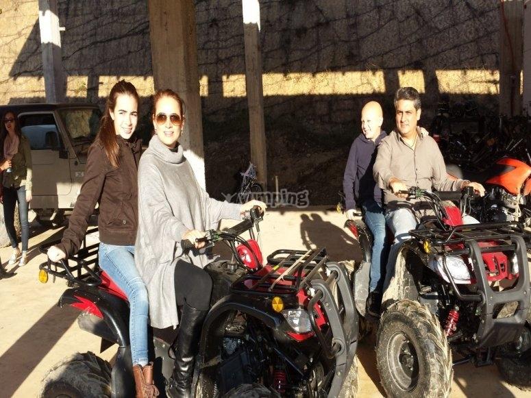 Family ATV ride