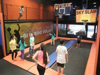 Afternoon at the trampoline park, Metepec