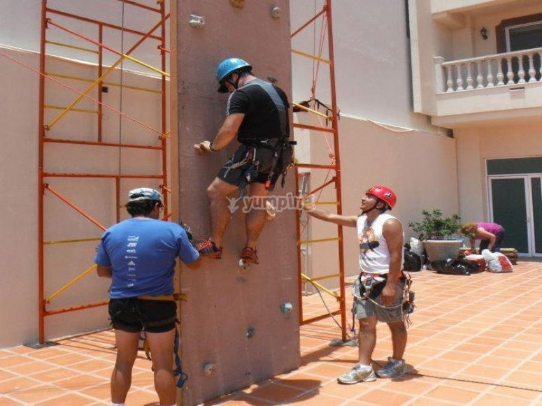 Climbing wall for all events