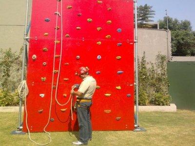 Muro de escalada, DF