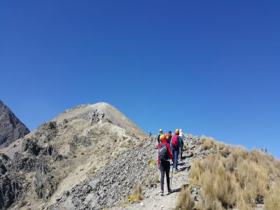 hikking in Nevado de Toluca + breakfast and lunch