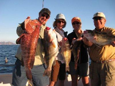 1 hour fishing in San Carlos