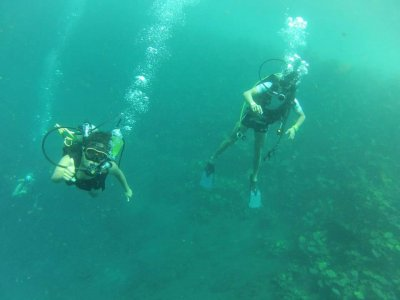 Scuba Diving in Media Luna with lodging included