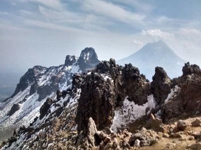 Hikking to Malitzin volcano