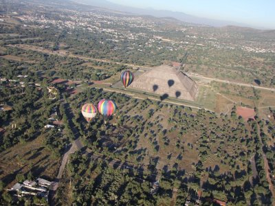 Air balloon ride + free bike tour