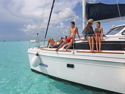 Catamaran in Cozumel (6 hours)