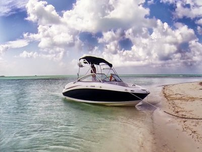 Boat trip, 6 hours. Cozumel.