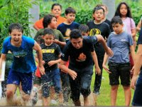 Camp for kids in Morelos
