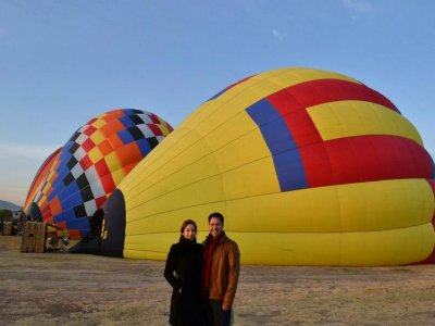 Private Ride on a Hot Air Balloon, Tlaxcala