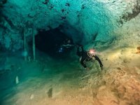 dive in Mexico
