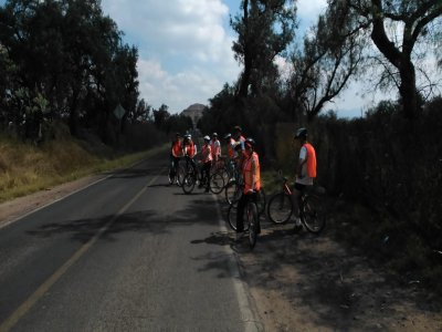 Bike Tour through Teotihuacán and Temazcal