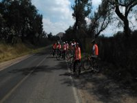 Aventure tour in Teotihuacan on a bike