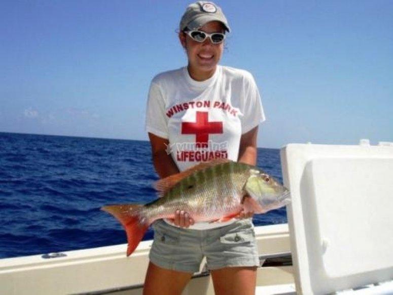 Excelente dia de pesca