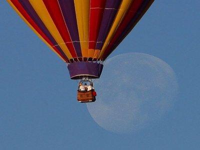 Vuelo en globo compartido mas transporte, Tlaxcala