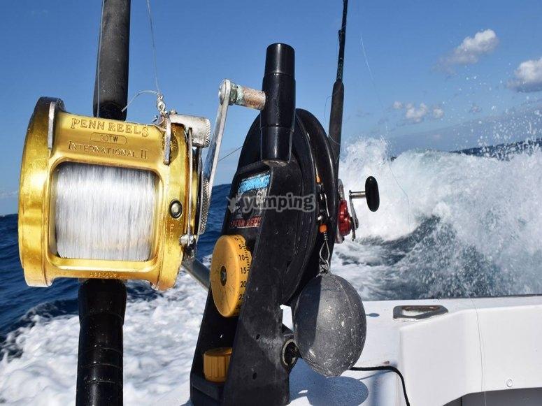Te damos los materiales para la pesca