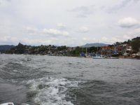 Sailing on the lake of Valle de Bravo