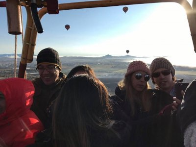 1-hour Shared Hot Air balloon Ride, Tequisquiapan
